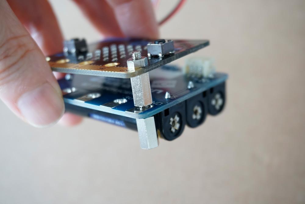 micro:bit 電源モジュール