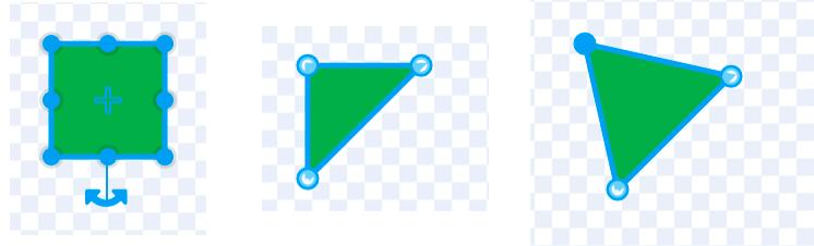 三角形を描く